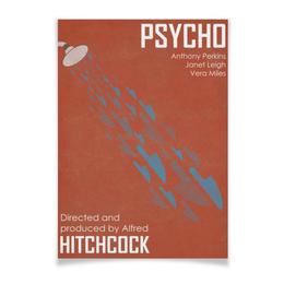 """Плакат A2(42x59) """"Психо / Psycho"""" - ужасы, psycho, психо, хитчкок, альфред хитчкок"""