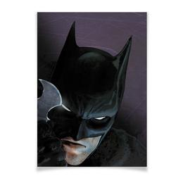 "Плакат A2(42x59) ""Бэтмен"" - комиксы, batman, бэтмен, dc, dc comics"