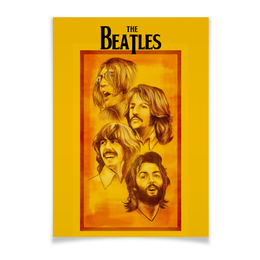 "Плакат A2(42x59) ""The Beatles"" - beatles, the beatles, битлз, рок музыка, рок группа"