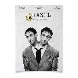 """Плакат A2(42x59) """"Бразилия / Brazil"""" - brazil, бразилия, роберт де ниро, де ниро, терри гиллиам"""