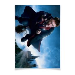 "Плакат A2(42x59) ""Гарри Поттер"" - сказка, гарри поттер, волшебство, магия, хогвардс"