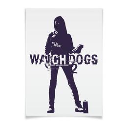 """Плакат A2(42x59) """"Watch Dogs 2"""" - watch dogs 2, sitara"""