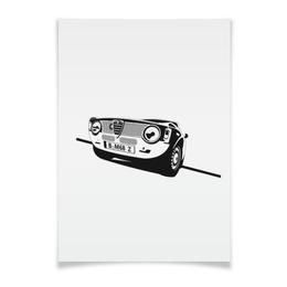 "Плакат A2(42x59) ""Retro Alfa Romeo Racing"" - ретро, авто, машина, гонки, alfa romeo"