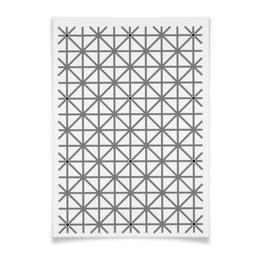 """Плакат A2(42x59) """"Оптическая иллюзия"""" - оптическая иллюзия, обман зрения"""