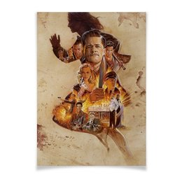 "Плакат A2(42x59) ""Бесславные ублюдки / Inglourious Basterds"" - брэд питт, квентин тарантино, бесславные ублюдки, inglourious basterds, кристоф вальц"