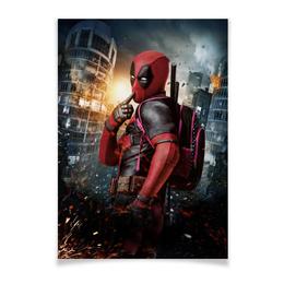 "Плакат A2(42x59) ""ДЭДПУЛ | DEADPOOL"" - дэдпул, deadpool, люди икс, x-men, фэн-арт"
