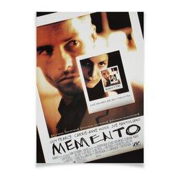 """Плакат A2(42x59) """"Помни / Memento"""" - постер, помни, кристофер нолан, кинопостер, memento"""