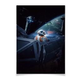 "Плакат A2(42x59) ""Star Wars"" - фантастика, star wars, звездные воины, империя, джедай"