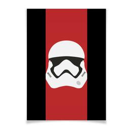 "Плакат A2(42x59) ""Star Wars stormrooper/Звездные Войны Штурмовик"" - арт, звездные войны, starwars, дарт вейдер, r2d2"