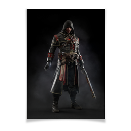 "Плакат A2(42x59) ""Assassins Creed (Rogue)"" - игра, assassins creed, воин, rogue, изгой"