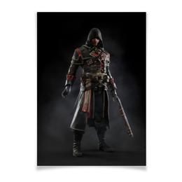 """Плакат A2(42x59) """"Assassins Creed (Rogue)"""" - игра, assassins creed, воин, rogue, изгой"""