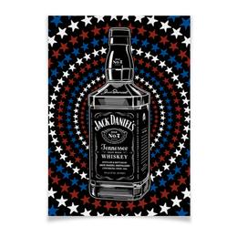 """Плакат A2(42x59) """"Jack Daniels"""" - арт, стиль, дизайн, графика"""