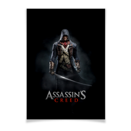 "Плакат A2(42x59) ""Assassins Creed (Unity Arno)"" - игра, assassins creed, воин, unity arno, арно"