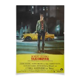 """Плакат A2(42x59) """"Таксист / Taxi Driver"""" - taxi driver, таксист, такси, де ниро, скорсезе"""