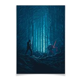 "Плакат A2(42x59) ""Звездные войны"" - кино, фантастика, star wars, звездные войны, дарт вейдер"