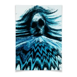 """Плакат A2(42x59) """"ураган"""" - рисунок, картина, абстракция, искусство, яркие краски"""