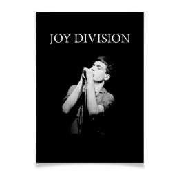"Плакат A2(42x59) ""Иен Кёртис. Joy Division"" - музыка, joy division, ian curtis, иэн кёртис, йен кёртис"