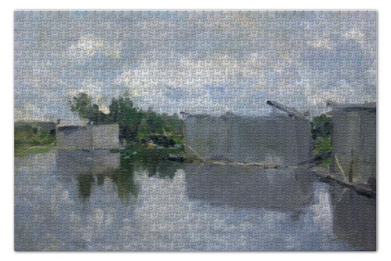 Пазл 73.5 x 48.8 (1000 элементов) Printio Бани (картина константина коровина) бани