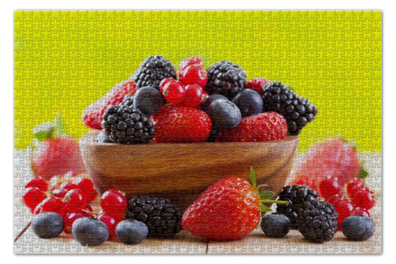 Фото - Пазл 73.5 x 48.8 (1000 элементов) Printio Ягодный микс сок джус тим фруктово ягодный микс 1л