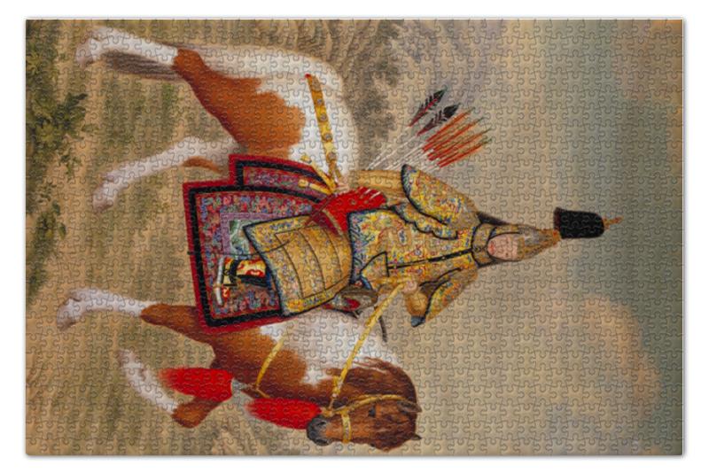 Пазл 73.5 x 48.8 (1000 элементов) Printio Цяньлун (джузеппе кастильоне) концерт джузеппе верди известный и неизвестный