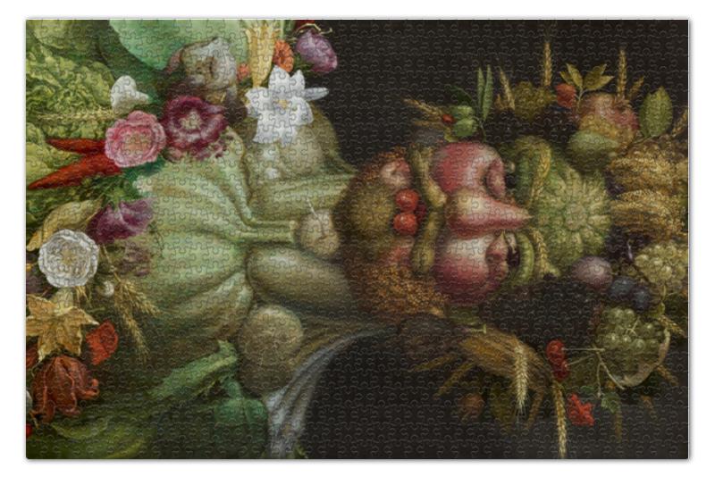 Пазл 73.5 x 48.8 (1000 элементов) Printio Рудольф ii в образе вертумна (картина арчимбольдо) г шлис рудольф фон вестенбург картина необузданных страстей ч 2