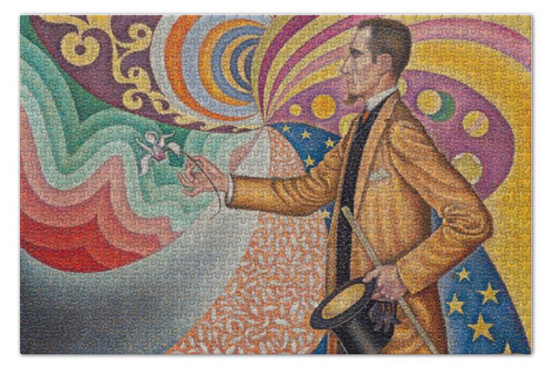 Пазл 73.5 x 48.8 (1000 элементов) Printio Портрет феликса фенеона синьяк блокнот
