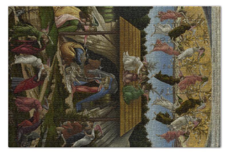 Пазл 73.5 x 48.8 (1000 элементов) Printio Мистическое рождество (боттичелли) пазл 73 5 x 48 8 1000 элементов printio сад художника в аржантее клод моне
