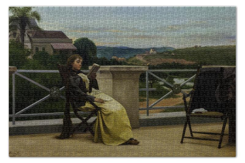 Пазл 73.5 x 48.8 (1000 элементов) Printio Чтение (жозе феррас де алмейда жуниор)