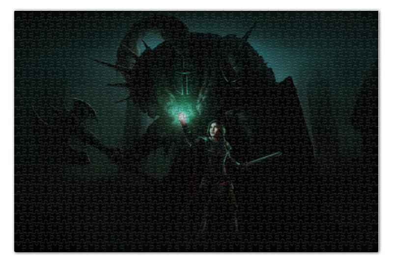 Пазл 73.5 x 48.8 (1000 элементов) Printio Dark souls dark souls prepare to die