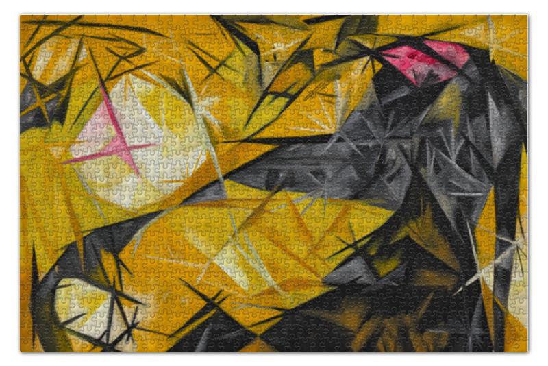 Пазл 73.5 x 48.8 (1000 элементов) Printio Кошки (розовое, черное и желтое) торт printio кошки розовое черное и желтое