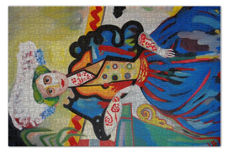 лучшая цена Пазл 73.5 x 48.8 (1000 элементов) Printio Женщина (амадеу ди соза-кардозу)