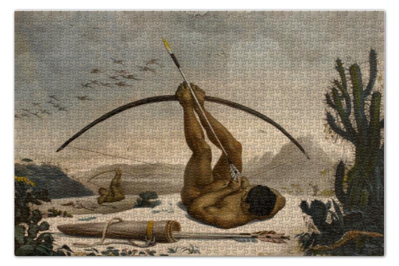 Пазл 73.5 x 48.8 (1000 элементов) Printio Кабокло (жан-батист дебре) жан батист баронян бодлер