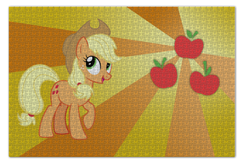 Пазл 73.5 x 48.8 (1000 элементов) Printio Applejack color line пазл 73 5 x 48 8 1000 элементов printio rarity color line