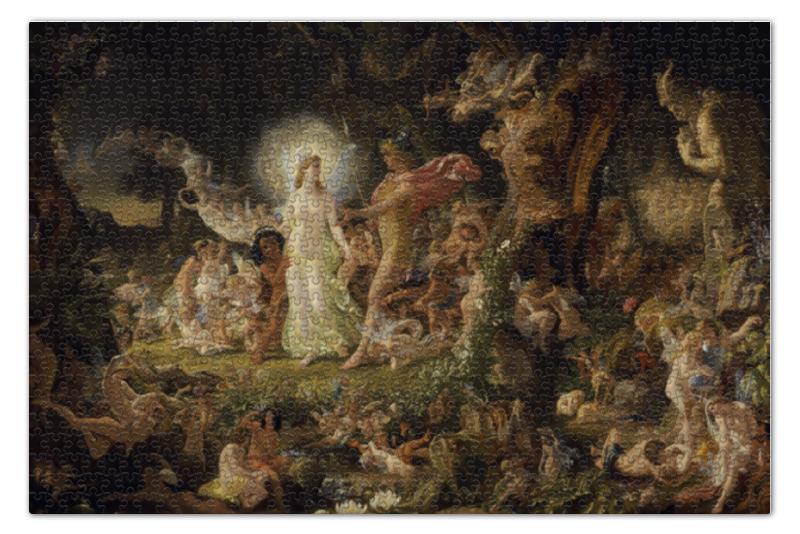 Пазл 73.5 x 48.8 (1000 элементов) Printio Ссора оберона с титанией астахов ю а джозеф ноэль патон