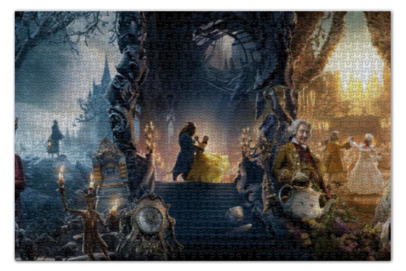 Пазл 73.5 x 48.8 (1000 элементов) Printio Красавица и чудовище красавица и чудовище dvd
