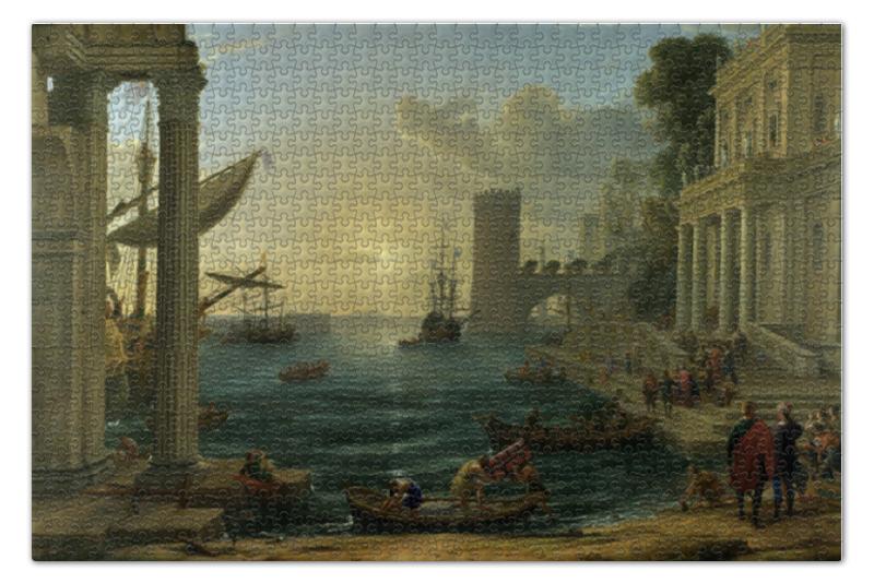 Пазл 73.5 x 48.8 (1000 элементов) Printio Отплытие царицы савской цены