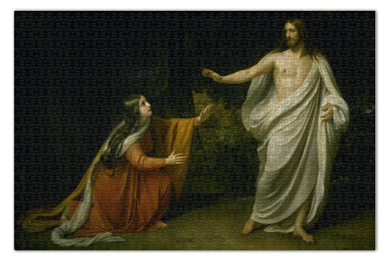 Пазл 73.5 x 48. (1000 элементов) Printio Явление христа марии магдалине после воскресения