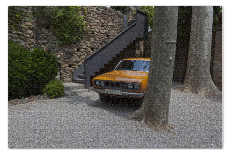 Пазл 73.5 x 48.8 (1000 элементов) Printio Автомобиль галы куплю подержаный автомобиль во владивостоке