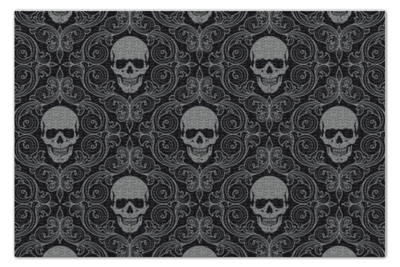 Пазл 73.5 x 48.8 (1000 элементов) Printio Texture skull пазл 73 5 x 48 8 1000 элементов printio железный человек