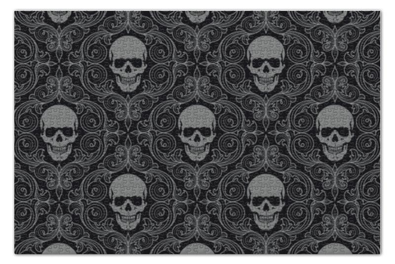 Пазл 73.5 x 48.8 (1000 элементов) Printio Texture skull пазл 73 5 x 48 8 1000 элементов printio сад земных наслаждений