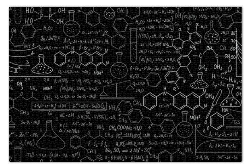 Пазл 73.5 x 48.8 (1000 элементов) Printio Химия