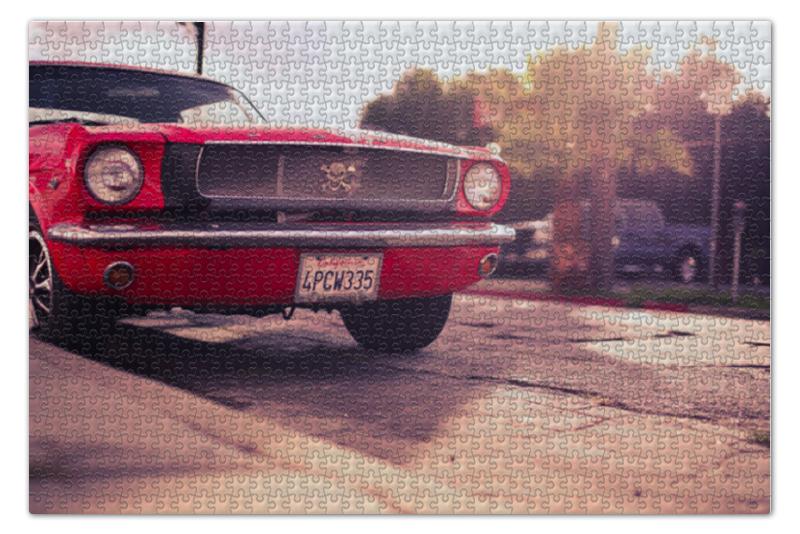 Пазл 73.5 x 48.8 (1000 элементов) Printio Форд мустанг форд транзит локеры задние
