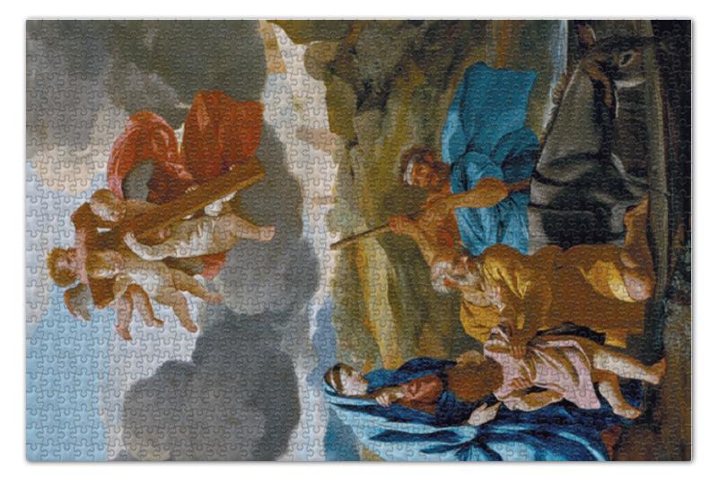 Пазл 73.5 x 48.8 (1000 элементов) Printio Возвращение святого семейства из египта