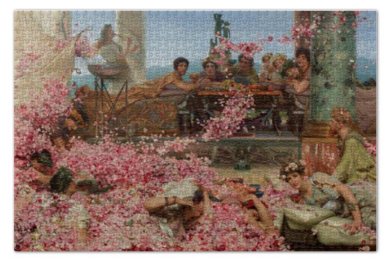 Printio Розы гелиогабала (лоуренс альма-тадема) пазл 73 5 x 48 8 1000 элементов printio bridge in purple