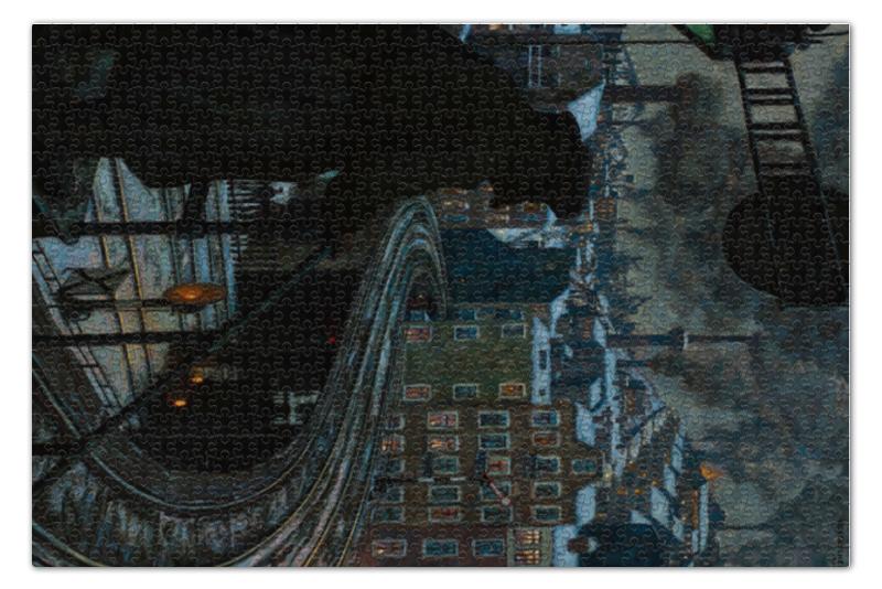 Пазл 73.5 x 48.8 (1000 элементов) Printio Город рабочих (ганс балушек)