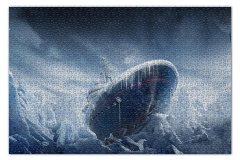 Пазл 73.5 x 48.8 (1000 элементов) Printio Black ice пазл 1000 томас кинкейд мост 57466
