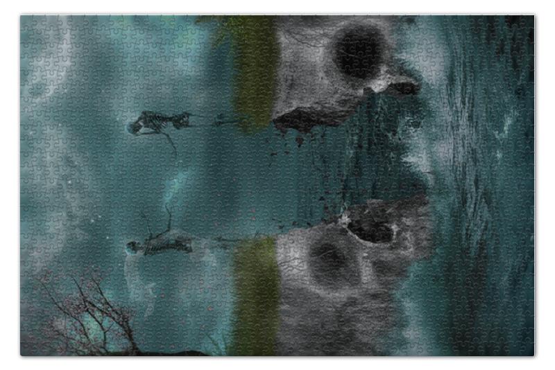 Пазл 73.5 x 48.8 (1000 элементов) Printio Dark art пазл 73 5 x 48 8 1000 элементов printio сад земных наслаждений