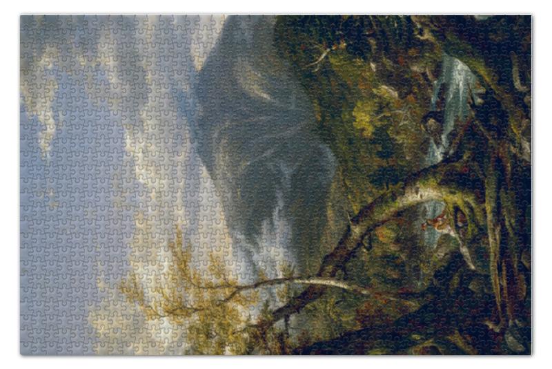 Пазл 73.5 x 48.8 (1000 элементов) Printio Индейская тропа тахавус (томас коул) пазл 1000 томас кинкейд мост 57466