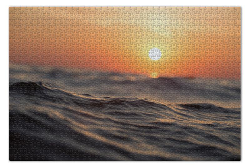 Printio Закат в море пазл 73 5 x 48 8 1000 элементов printio останкино