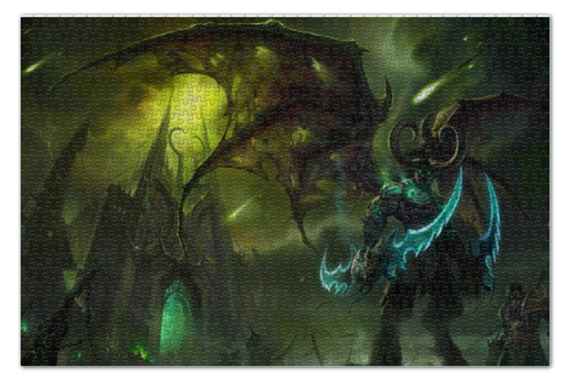 Пазл 73.5 x 48.8 (1000 элементов) Printio Illidan stormrage world of warcraft пазл 73 5 x 48 8 1000 элементов printio alleria windrunner world of warcraft